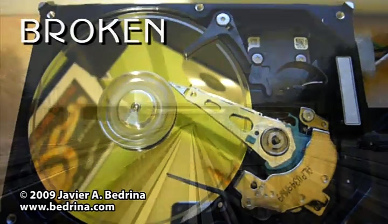 Broken - Videoart piece © 2009
