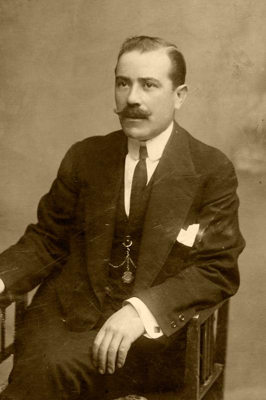 Mi bisabuelo Joaquín en 1917
