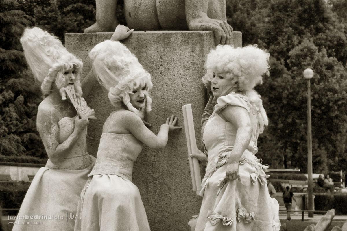 Actoress en Trocadero -Paris P1000214