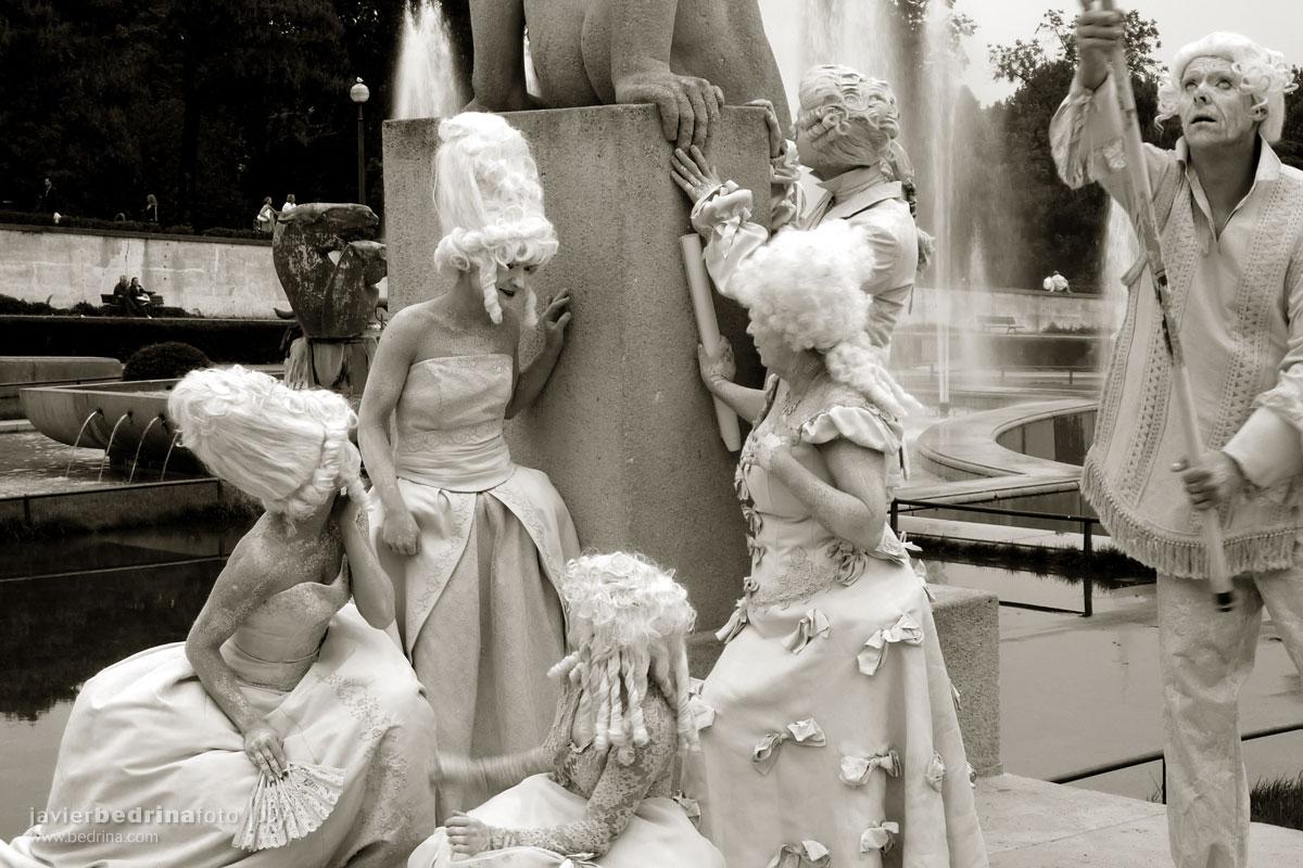Actoress en Trocadero -Paris P1000217