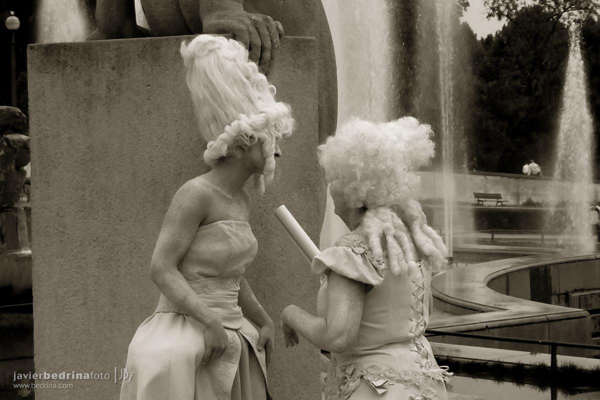 Actoress en Trocadero -Paris P1000219