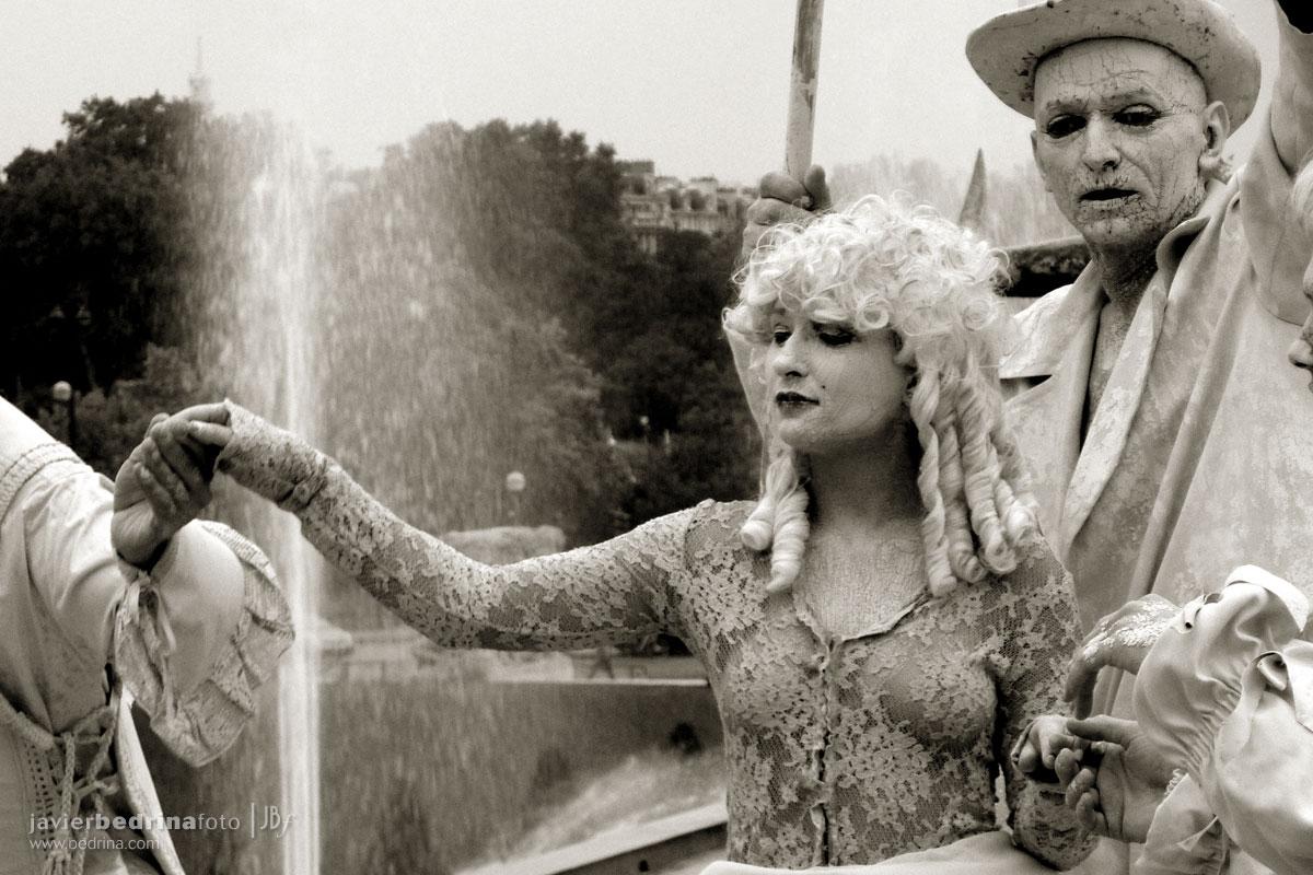 Actoress en Trocadero -Paris P1000223