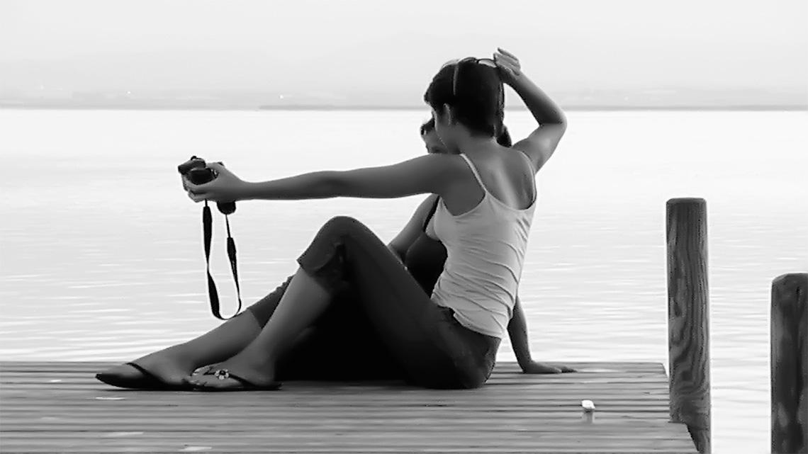 Literatura y Fotografía. Te espero en el lago