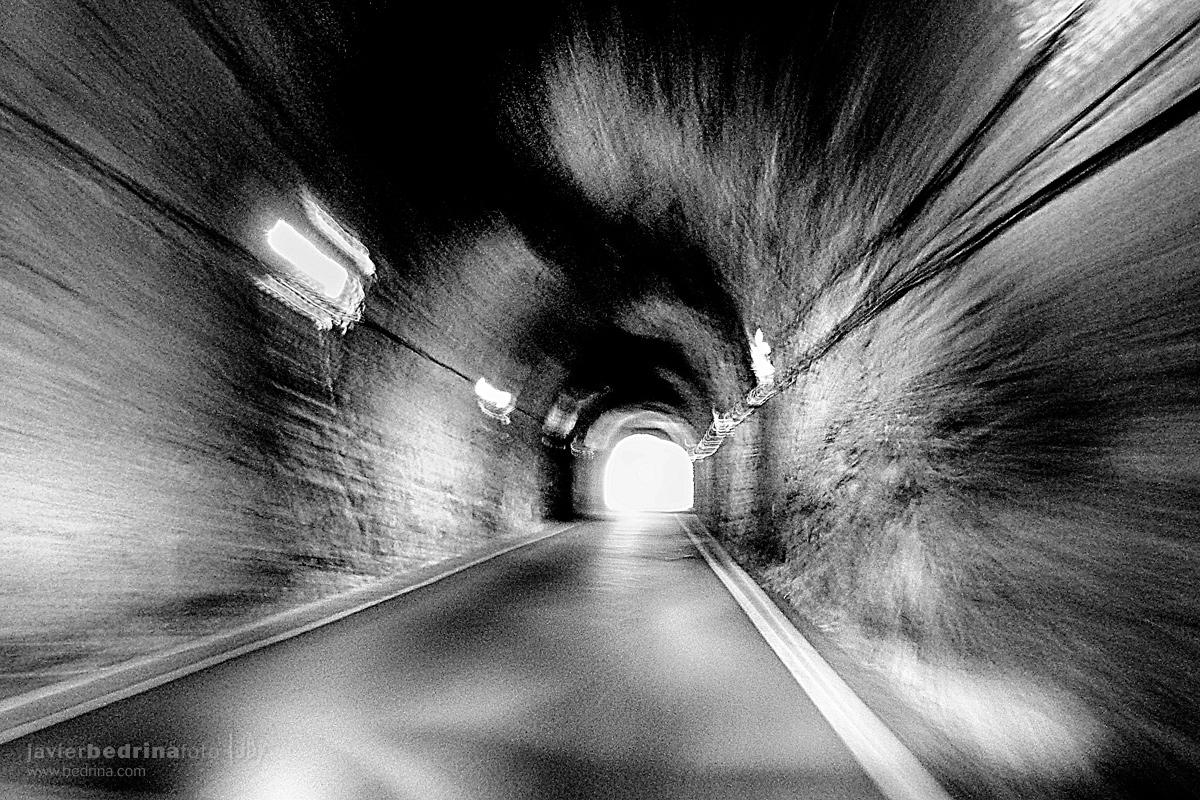 Túnel de entrada a Albarracin
