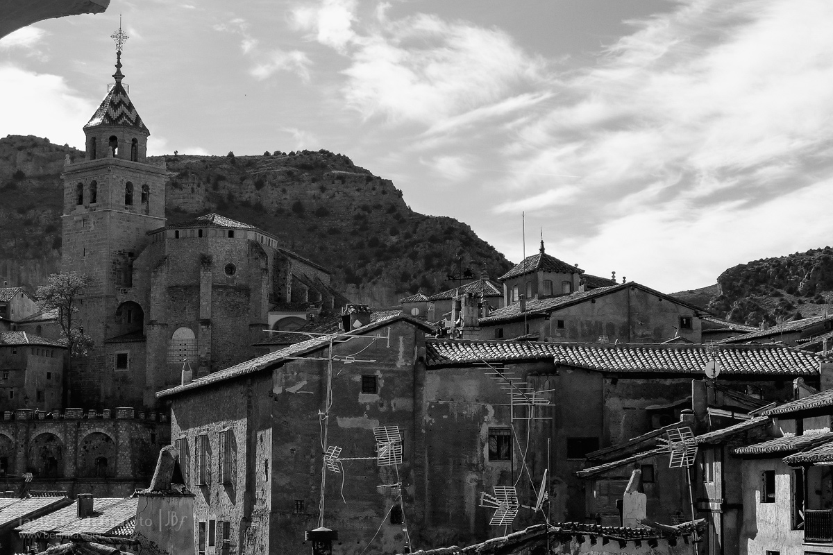 Vistas del centro de Albarracin