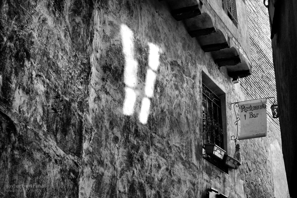 Luces en las paredes