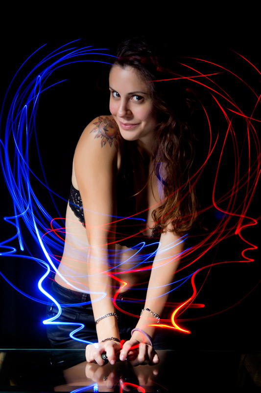 Light Painting y Posados