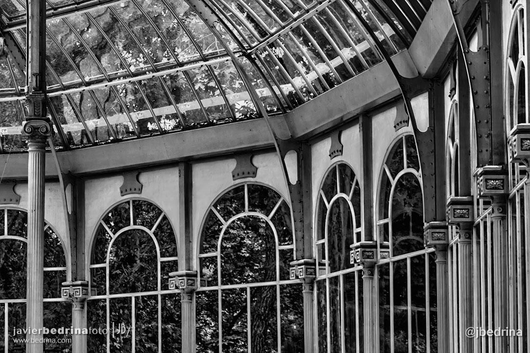 Interior del palacio de Cristal (El Retiro)