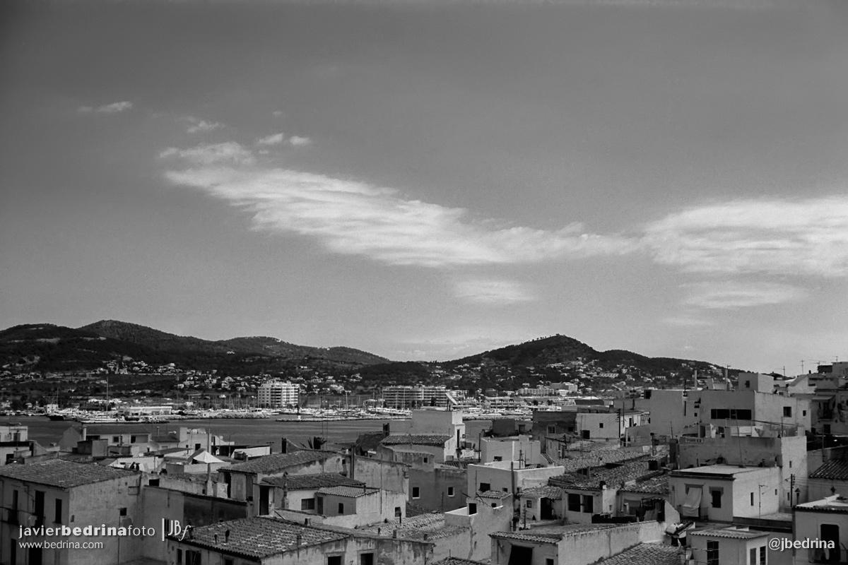 Vistas de Ibiza.